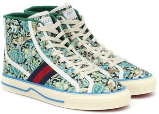 Gucci x Liberty Tennis '77 high-top sneakers