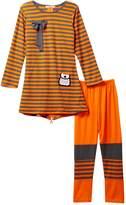 Paulinie Stripe Shirt & Legging Set (Toddler Girls)