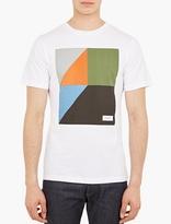 Saturdays Surf NYC White Graphic Print T-Shirt