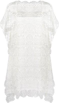 Tsumori Chisato Lace Embroidered Dress