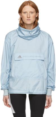 adidas by Stella McCartney Blue Running Tech Pullover
