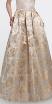 Camille La Vie Floral Brocade Ball gown Skirt