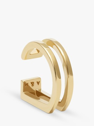 Astrid & Miyu Wishbone Ear Cuff, Gold