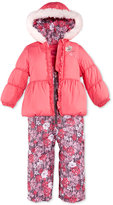 London Fog Little Girls' 2-Piece Floral Snowsuit