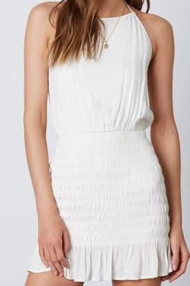 Cotton Candy Halter Mini Dress