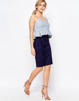 Oasis Pencil Skirt