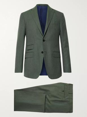 Sid Mashburn Grey-Green Kincaid No 3 Wool Suit