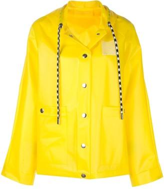 Proenza Schouler White Label PSWL Care Label short raincoat