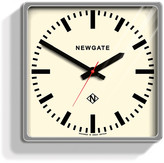 Newgate Clocks - Large Underpass Clock - Chrome