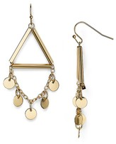 Aqua Amarah Triangle Drop Earrings