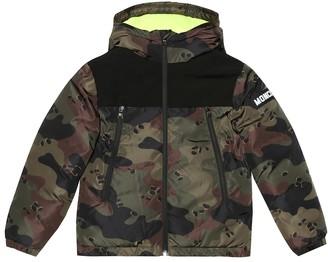 Moncler Enfant Pareloup Camouflage down jacket