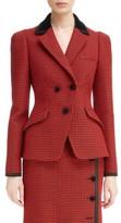 Altuzarra Women's Paladini Houndstooth Wool Jacket