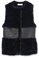 Tory Burch Roxanna Fur Vest