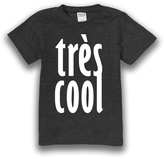 Urban Smalls Charcoal 'Très Cool' Tee - Toddler & Boys