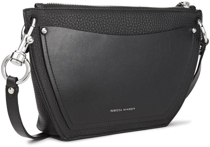 Thumbnail for your product : Rebecca Minkoff Hayden Pebbled-leather Shoulder Bag