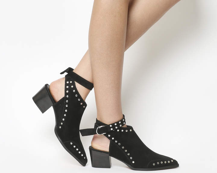 f94df30aba292 Low Heel Studded Shoes - ShopStyle UK