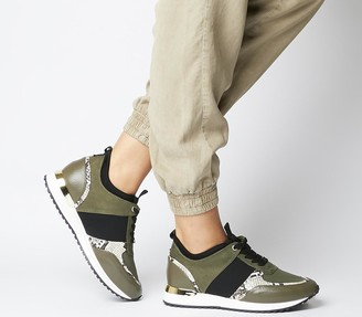 Office Flaming Glam Runners Khaki Mix