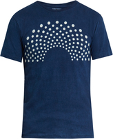Blue Blue Japan Polka-dot print T-shirt