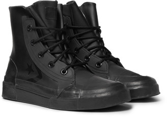 Converse + Ambush Faux Leather And Rubber High-Top Sneakers