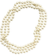 Lauren Ralph Lauren Long Glass Pearl Necklace