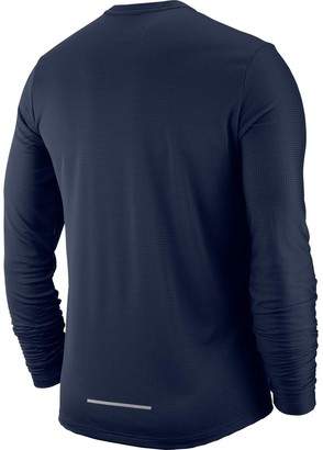 Nike PacerCrew Top- Grey/Silver