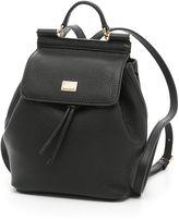 Dolce & Gabbana Grain Calfskin Mini Backpack