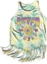 Rowdy Sprout Girl's Grateful Dead Tie-Dye Hippie Shake Tank