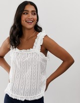 Y.A.S broderie cami top