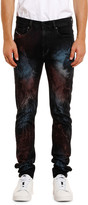 Diesel Men's Amny Painted Straight-Leg Jeans