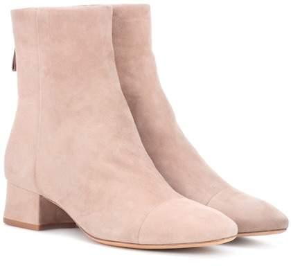 Alexandre Birman Suede ankle boots