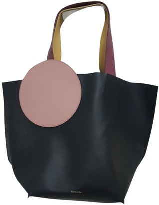 Roksanda Black Leather Handbags