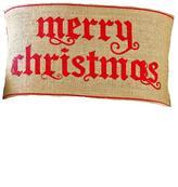Mud Pie Christmas Pillow Wrap