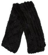 Adrienne Landau Knitted Fur Stole
