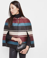 ZUAVI Antique Stripe cape