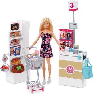 Barbie Doll & Supermarket Playset