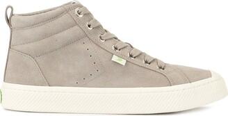 Cariuma OCA High Cloud Grey Suede Sneaker