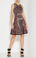 Herve Leger Kacey Tweed Jacquard Dress