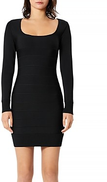 Herve Leger Icon Bandage Dress