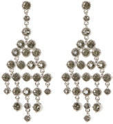 Jessica Simpson Dangling Embellished Chandelier Stud Earrings