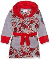 Marvel Boy's Avengers Symbols Dressing Gown,(Manufacturer Size: 10 Years)