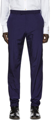 Paul Smith Navy Ripstop Trousers