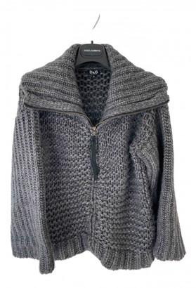 Dolce & Gabbana Grey Wool Knitwear for Women Vintage