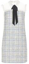 Miu Miu Tweed mini dress