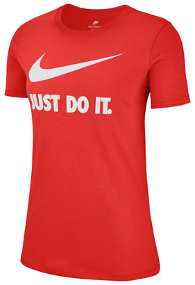 Nike Womens Just Do It Swoosh Tee