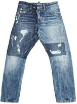 DSQUARED2 Washed Destroyed Denim Jeans
