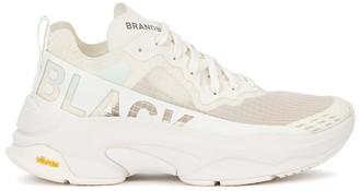 Brandblack Kite Racer white mesh sneakers