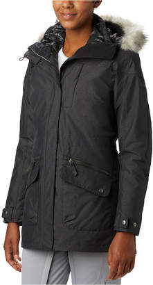 Columbia Women Carson Pass 3-In-1 Hooded Faux-Fur-Trim Coat