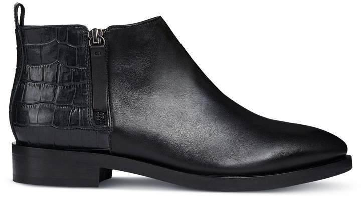 cefa2fb7d5a Donna Brogue Ankle Boots