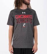 Under Armour Men's Cincinnati Bearcats College Wordmark T-Shirt