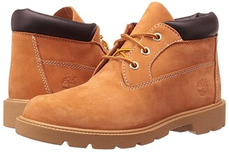 Timberland Kids 3 Eye Chukka (Big Kid) (Butter Pecan Nubuck) Boy's Shoes